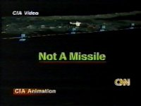 CIA NOT A MISSILE Graphic